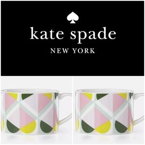 NWOT Kate Spade set of mugs